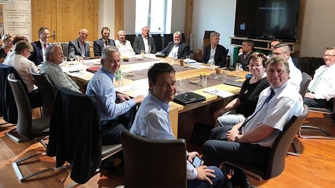 Tagung des Fachausschusses Außenwirtschaft der IHK bei der Holzindustrie Dresden GmbH