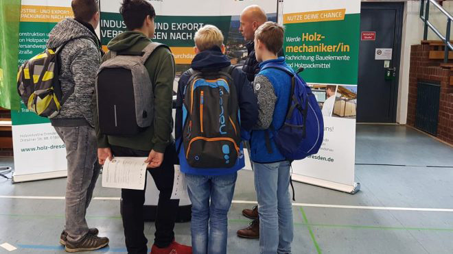 7. Regionale Praktikums- & Lehrstellenbörse in Dresden