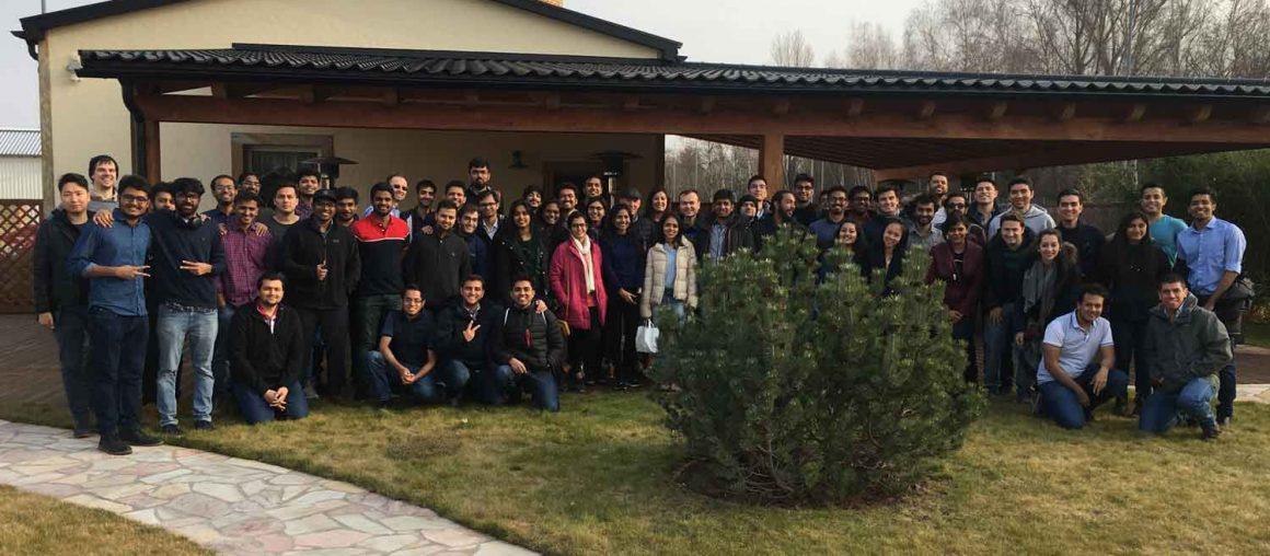 Studenten der TU Berlin zur Werksbesichtigung