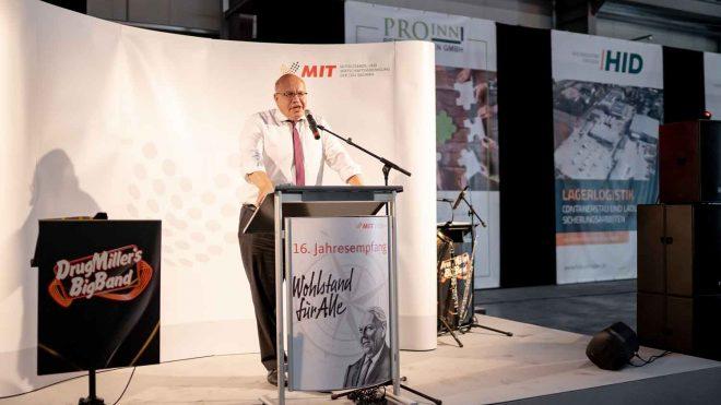 Wirtschaft trifft Politik bei der ProInn Beteiligungen GmbH in Heidenau