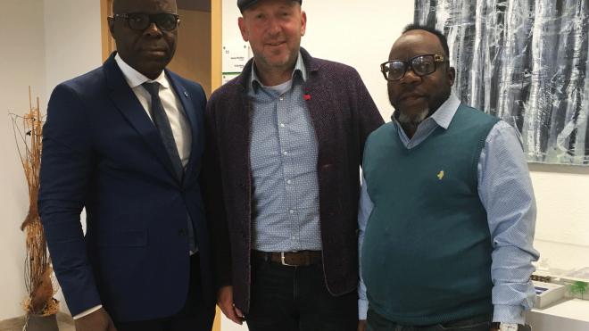 Besuch aus der Republik Kongo